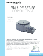 /products/heavy-payload-motorized-rotary-stage-newmark-systems