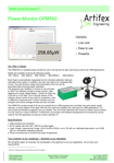 /optical-power-meters-and-laser-measurements/2004nm-1654nm-Optical-Power-Detector-and-Meter-Artifex