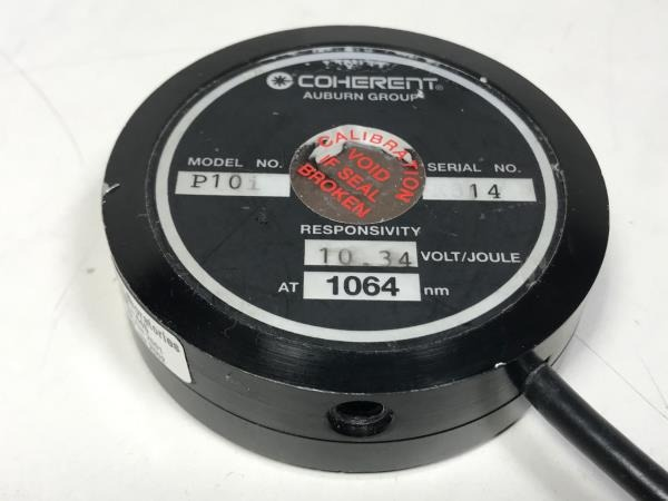 Coherent LM-P10i Detector Backplate Serial Number